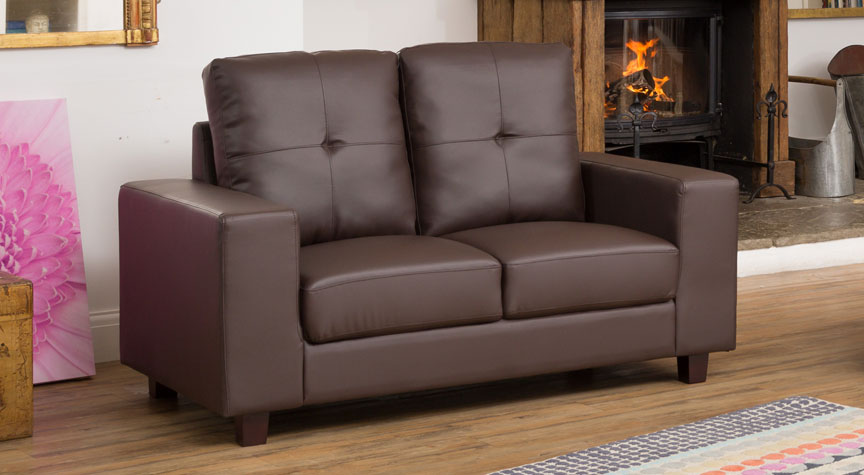 Ashdown 2 Seat Sofa Brown