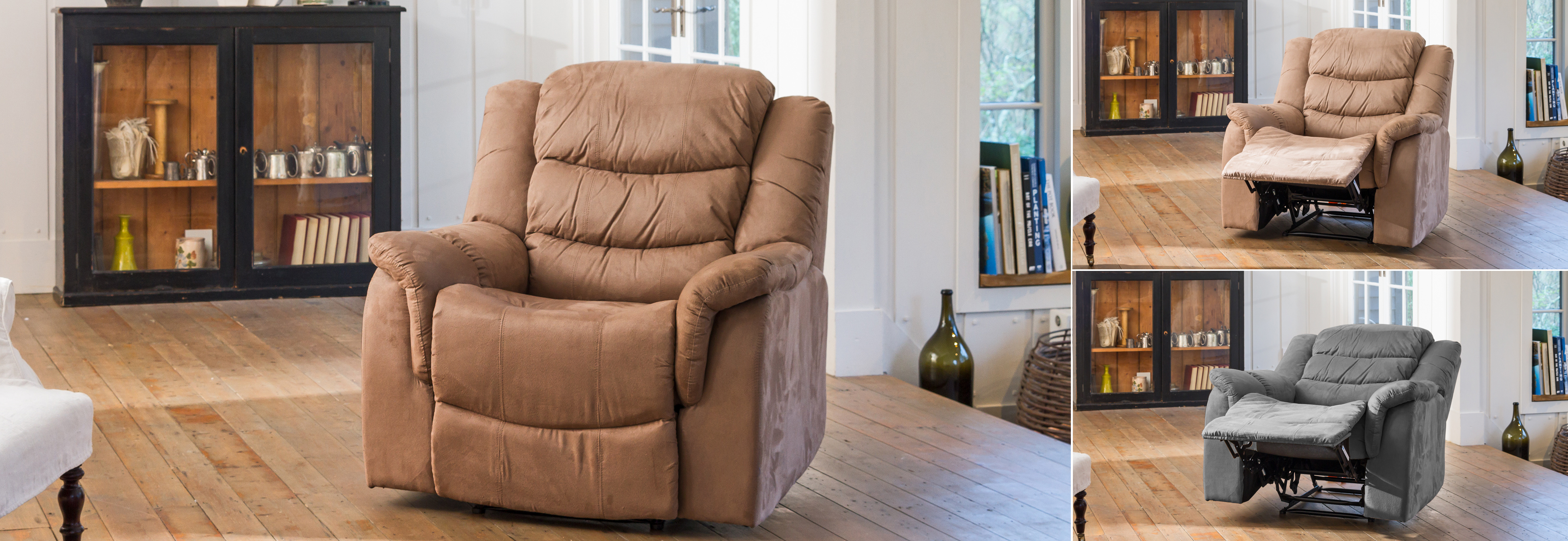 Asquith Electric Recliner mocha