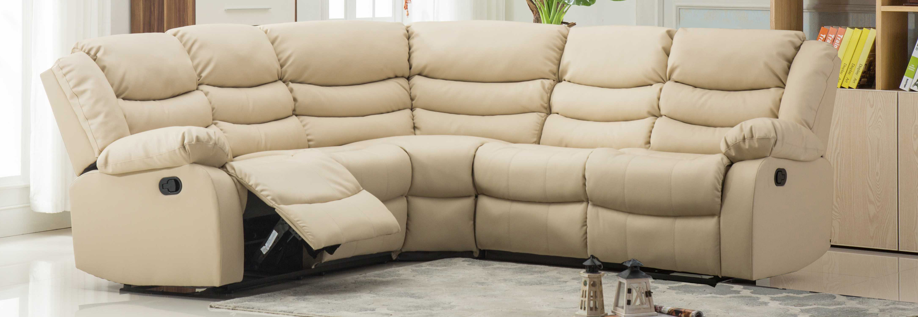 Astoria Reclining Corner Suite cream