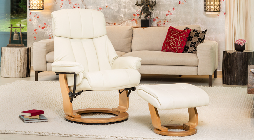 Aviemore Swivel Chair Cream