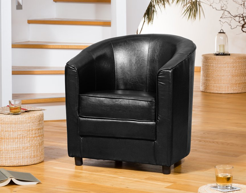Birchmere Tub Chair Black