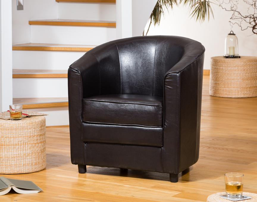 Birchmere Tub Chair Brown