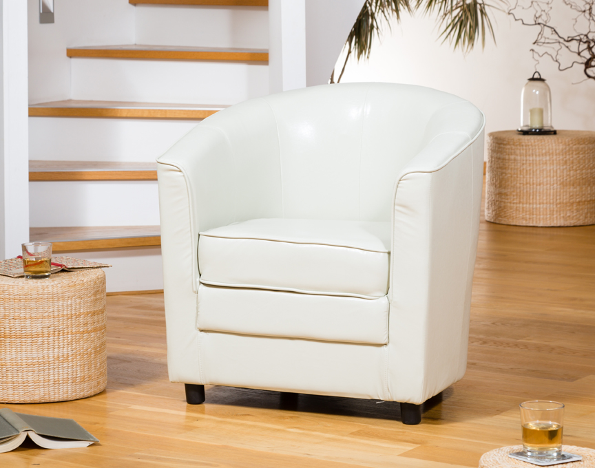 Birchmere Tub Chair Ivory