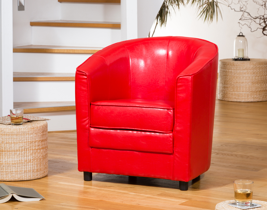 Birchmere Tub Chair Red