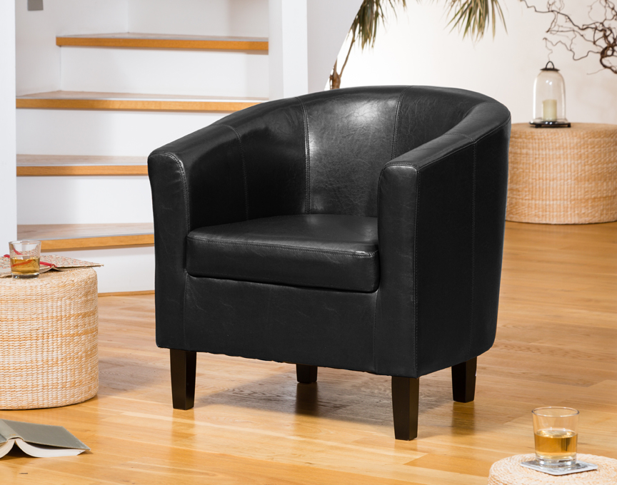 Boscombe tub chair black