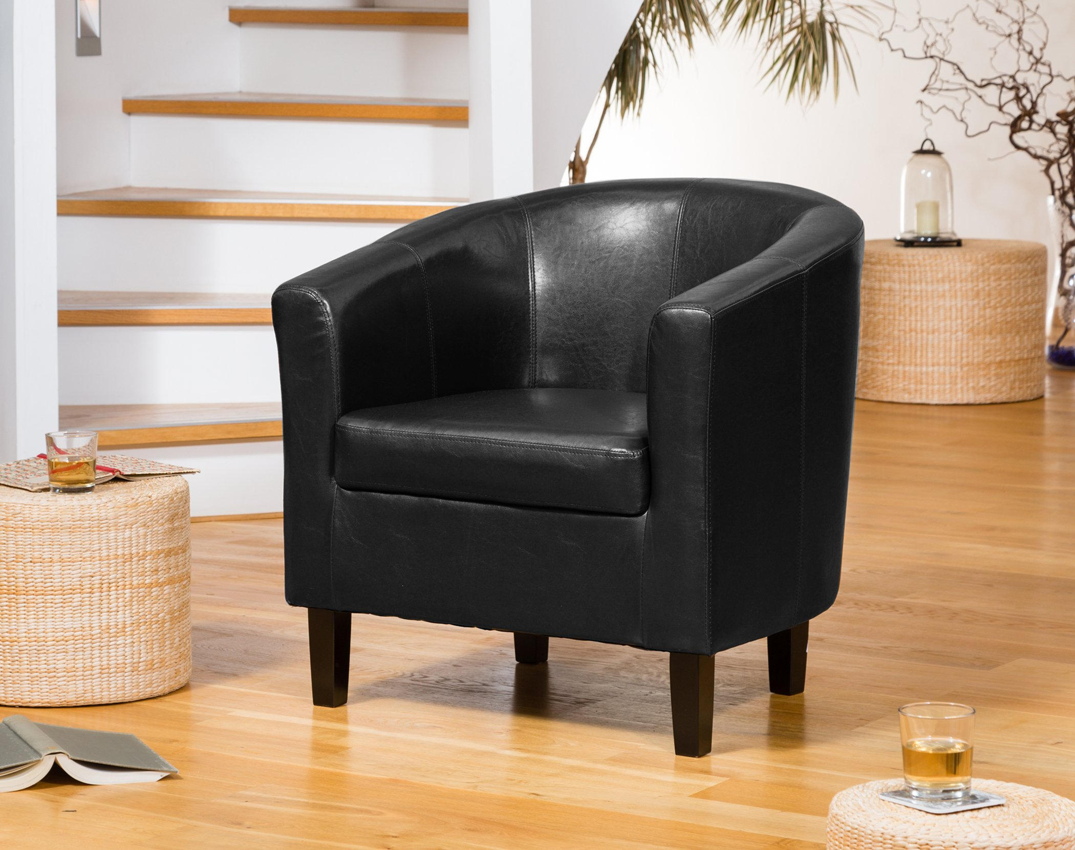 Aspen Tub Chair black