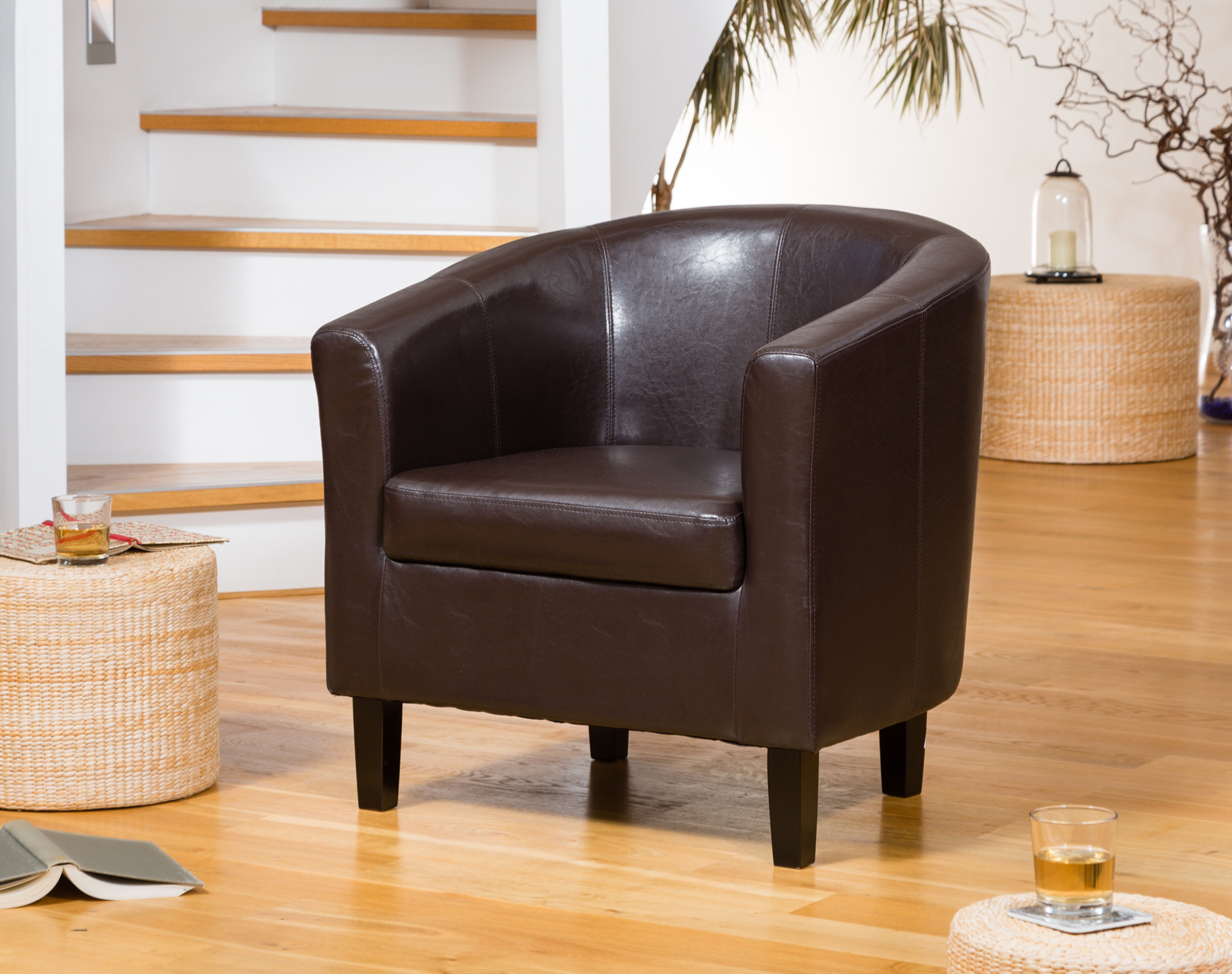 Boscombe Tub Chair brown