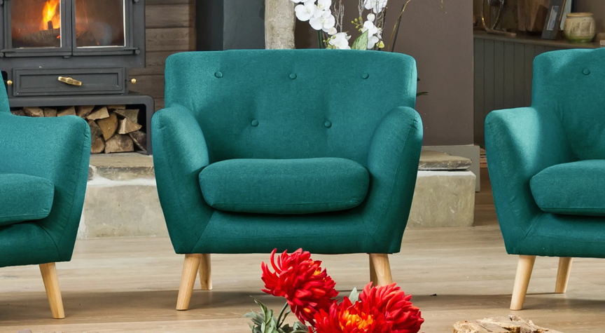 Bourchier armchair teal