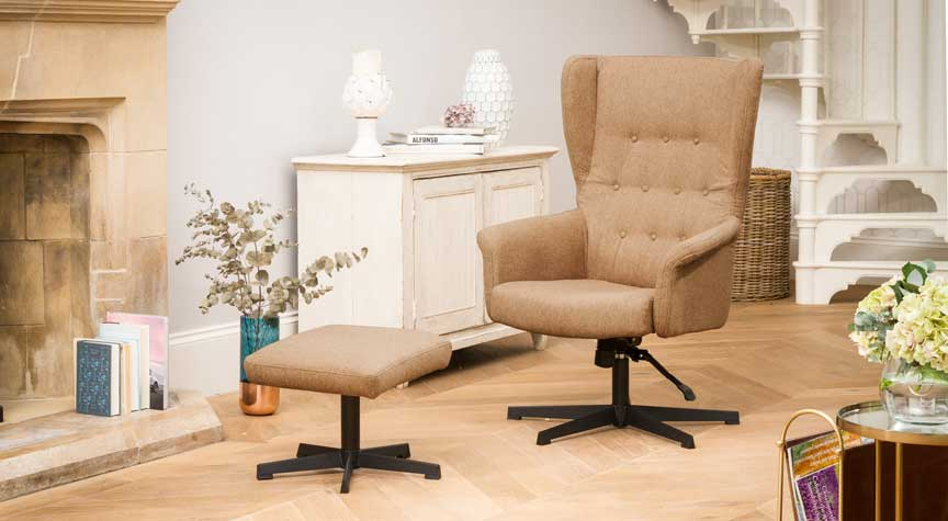 Bradninch Swivel Chair Barley