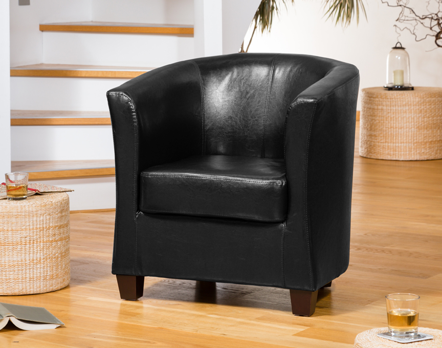 Brampton Tub Chair Black