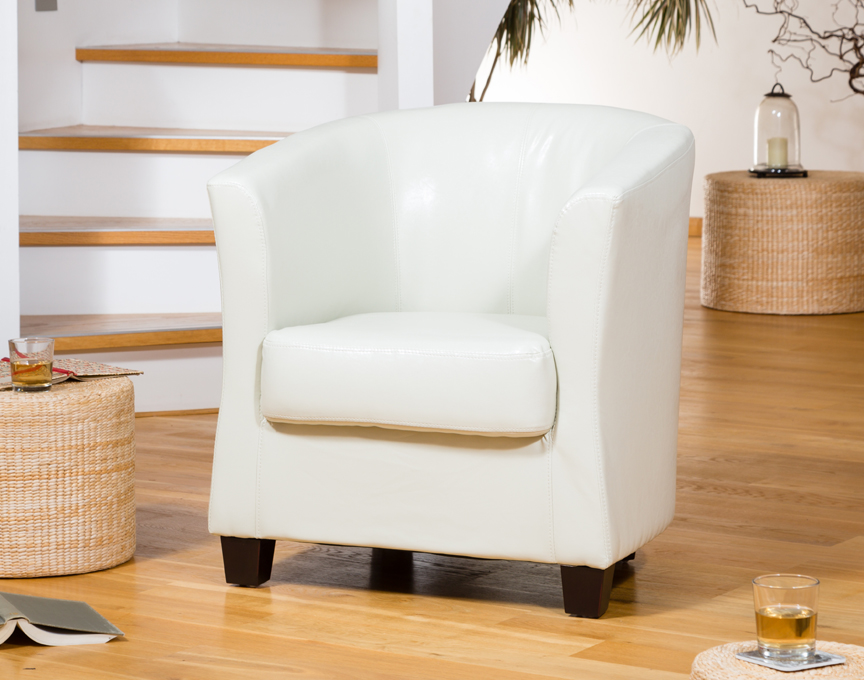 Brampton Tub Chair Ivory