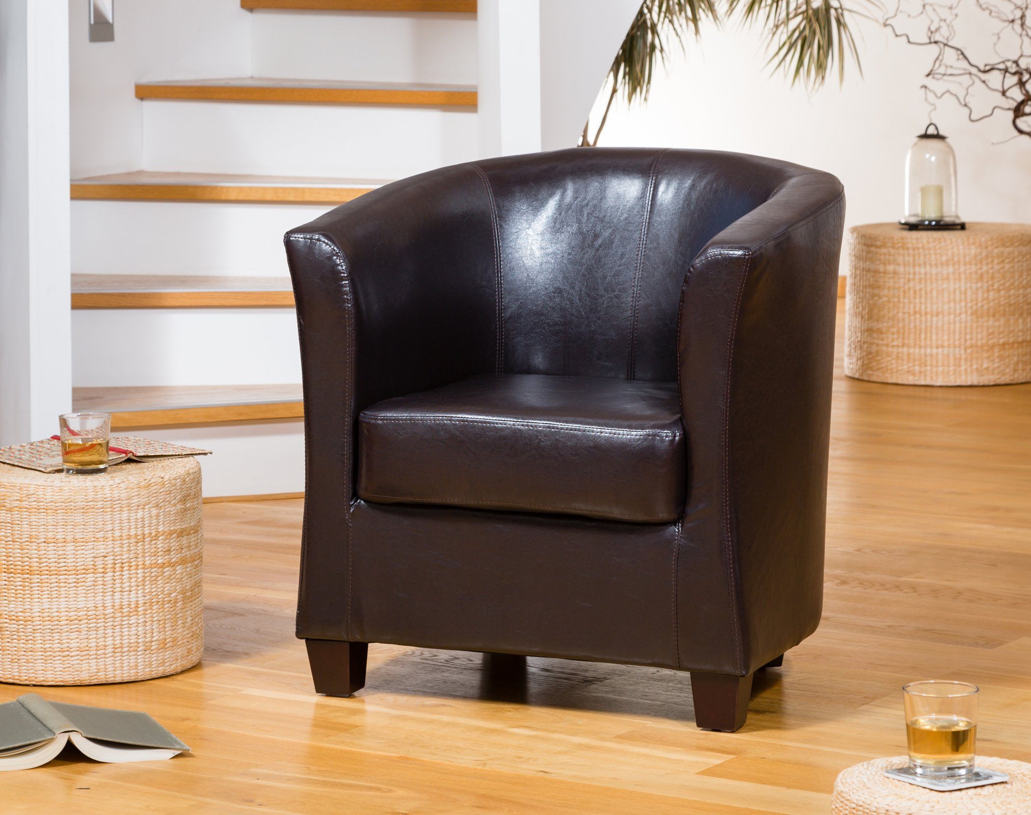 Brampton Tub Chair brown
