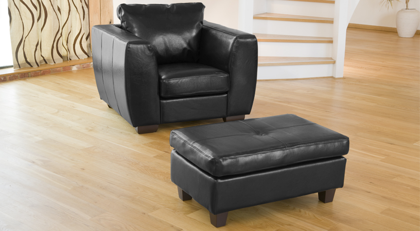 Brunswick Footrest black
