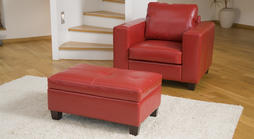 FOOTREST red