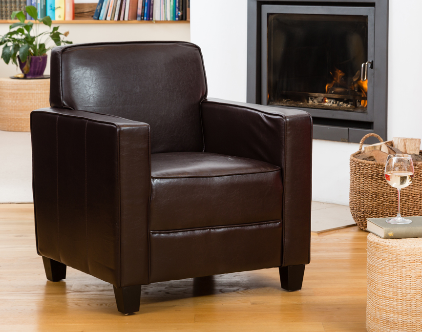 Campbell armchair brown