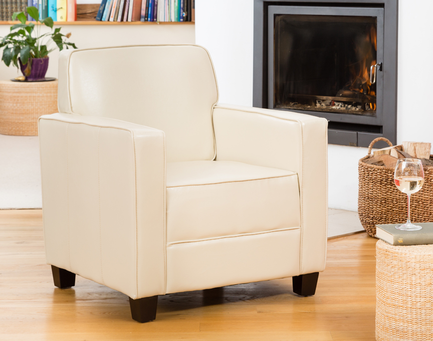 Campbell armchair cream