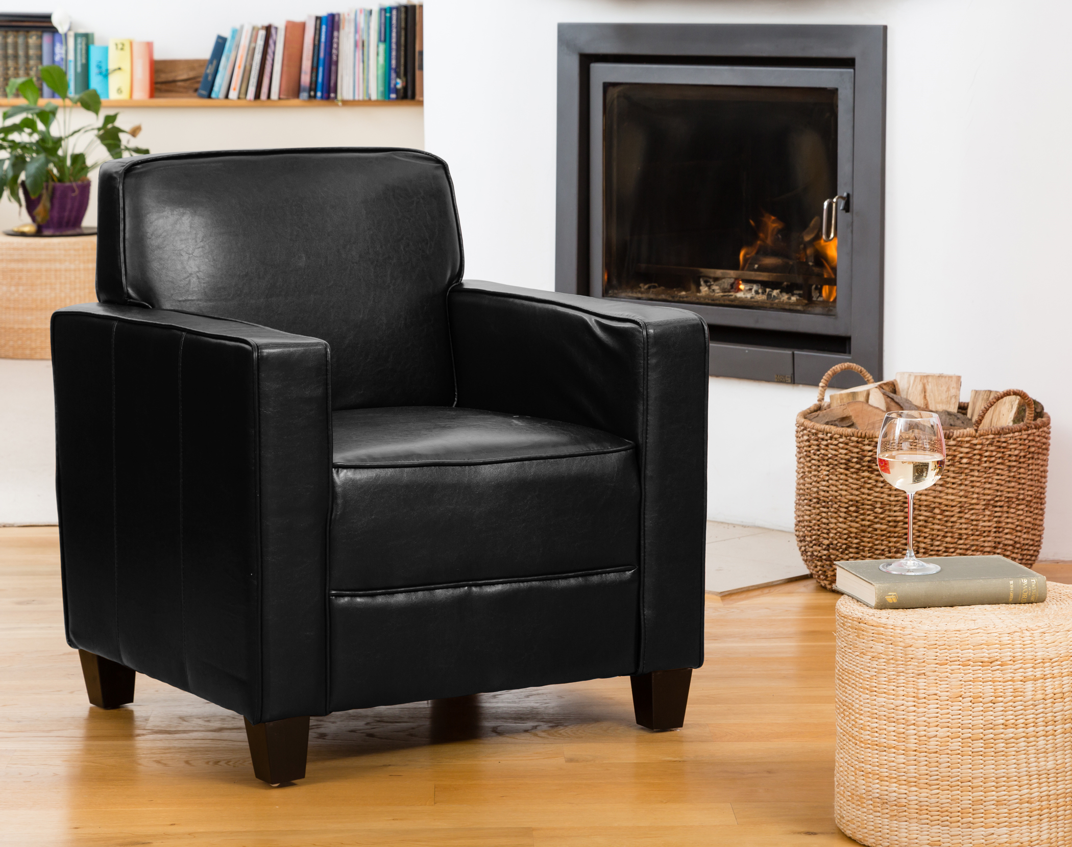 Campbell Armchair black