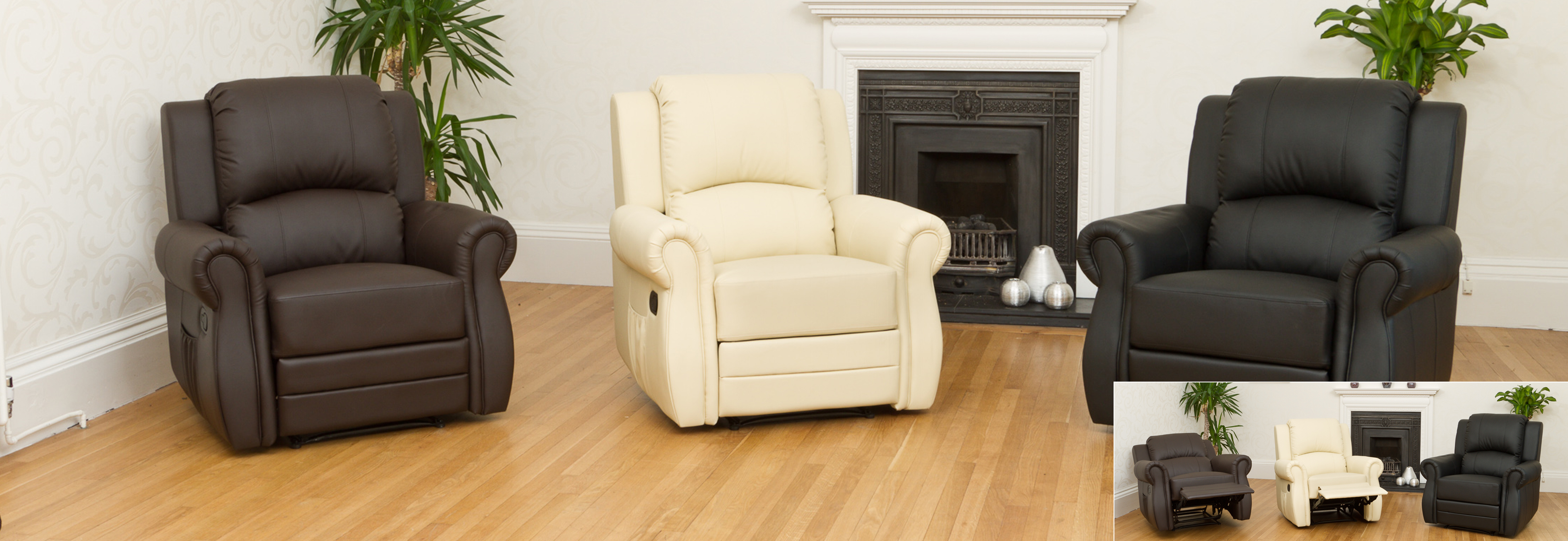 Caxton Recliner brown