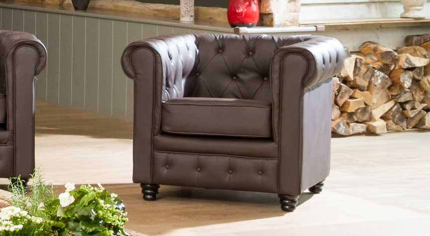 Chatteris 1 seater brown
