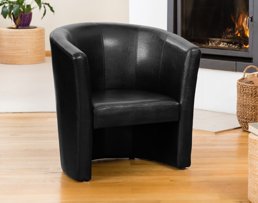 Chelston tub chair black