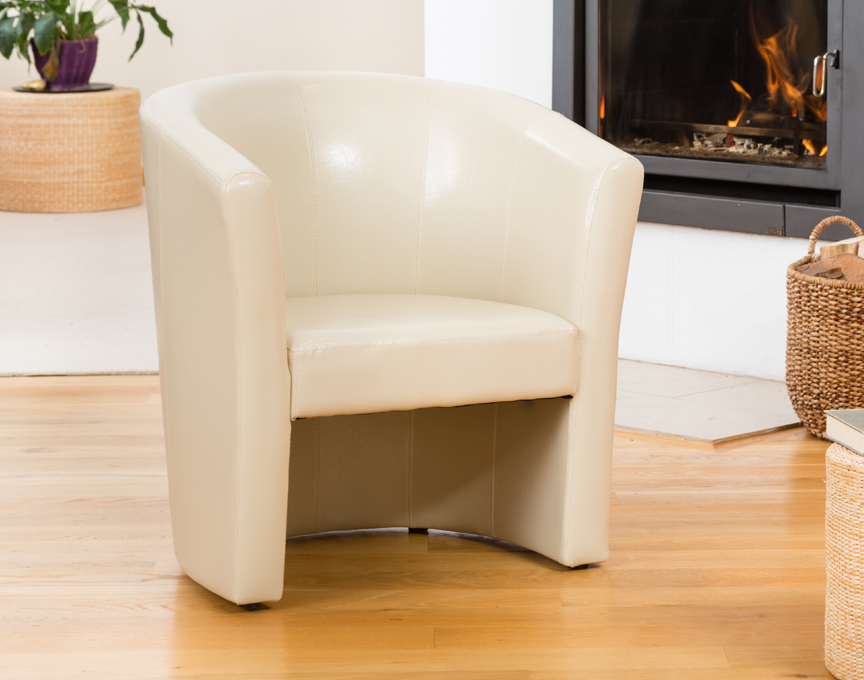Chelston tub chair ivory