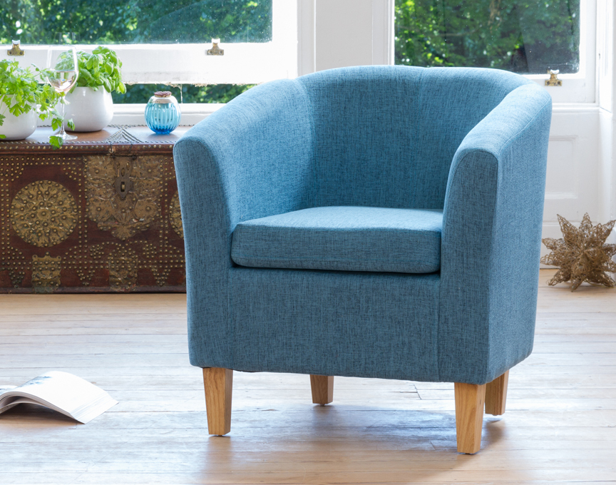 Clevedon tub chair teal