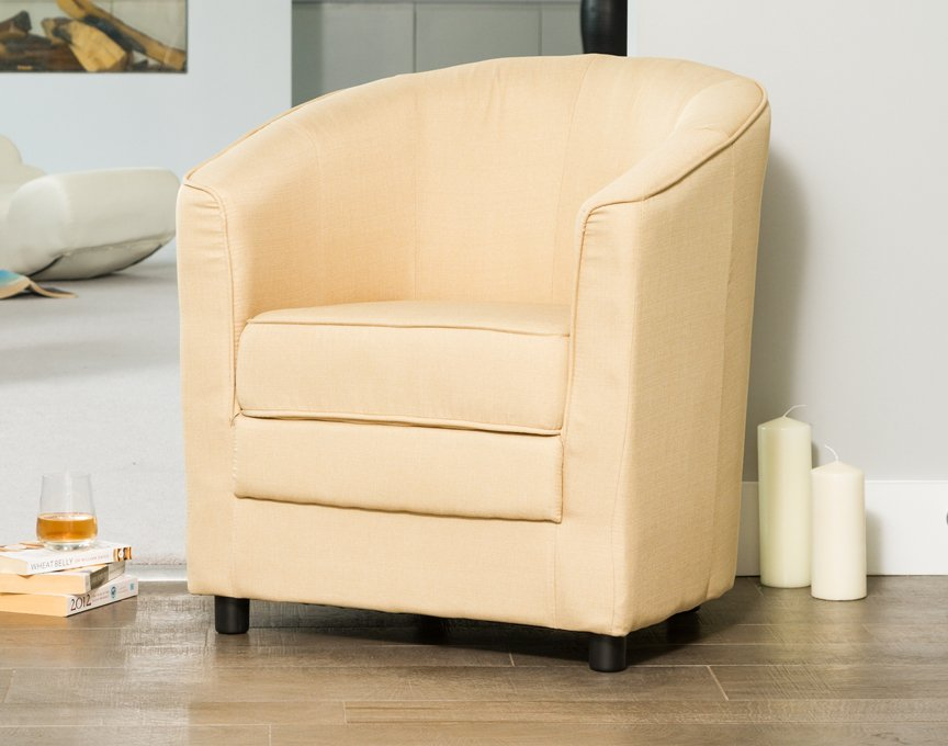 Coleford tub chair beige
