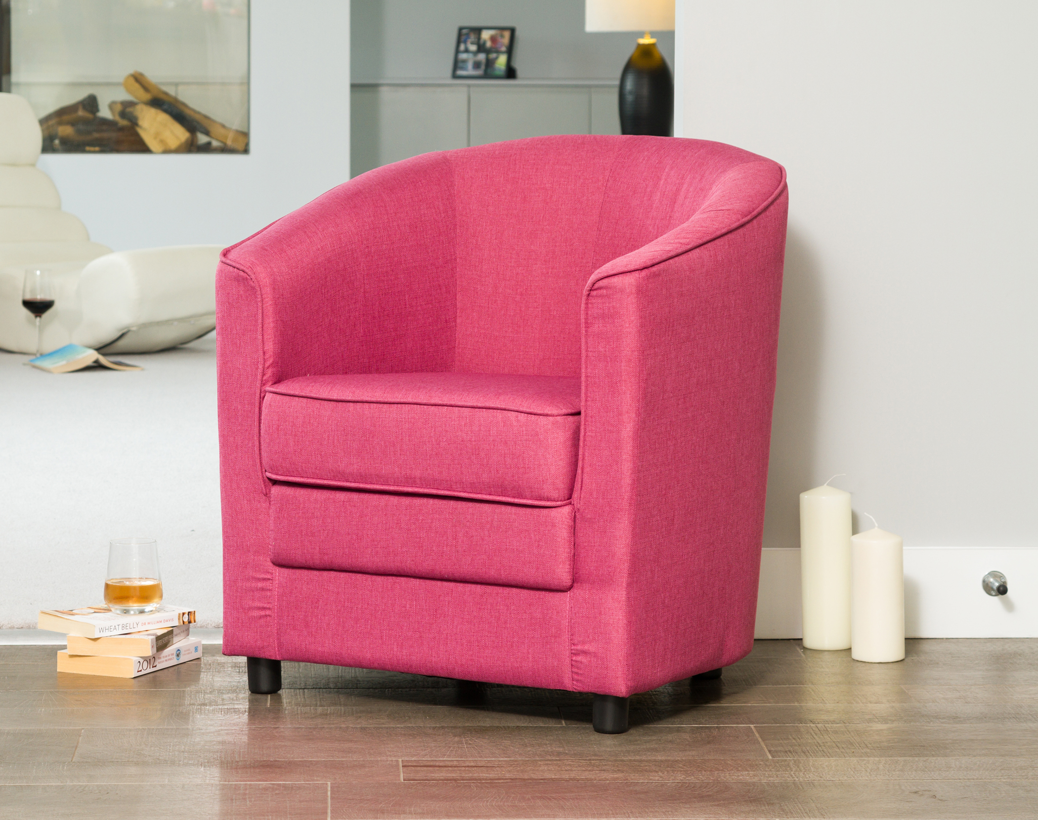 Coleford Tub Chair pink