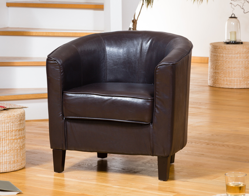 Culverstone Tub Chair Brown