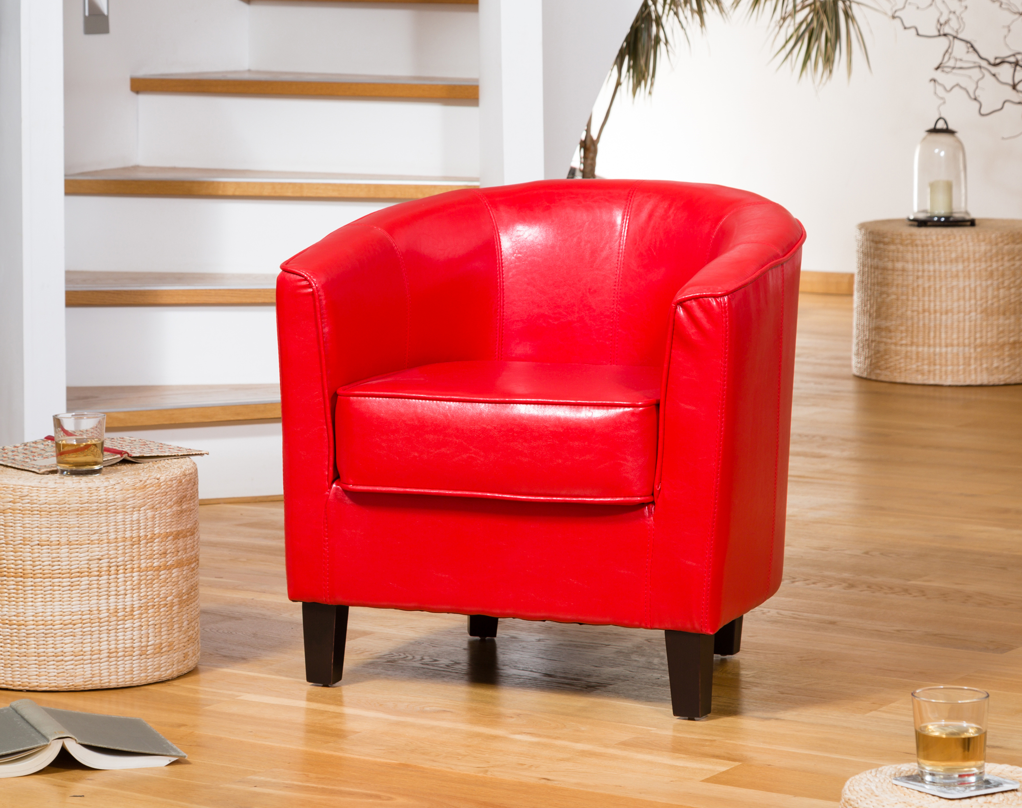 Culverstone Tub Chair red