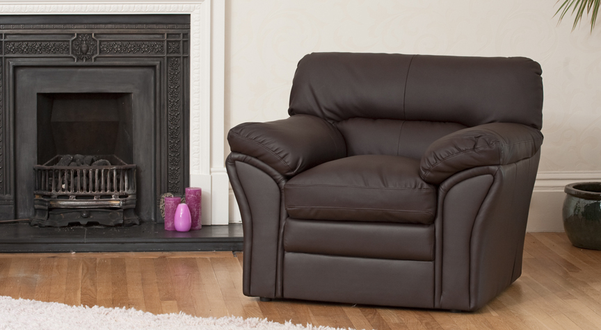 Danforth armchair brown