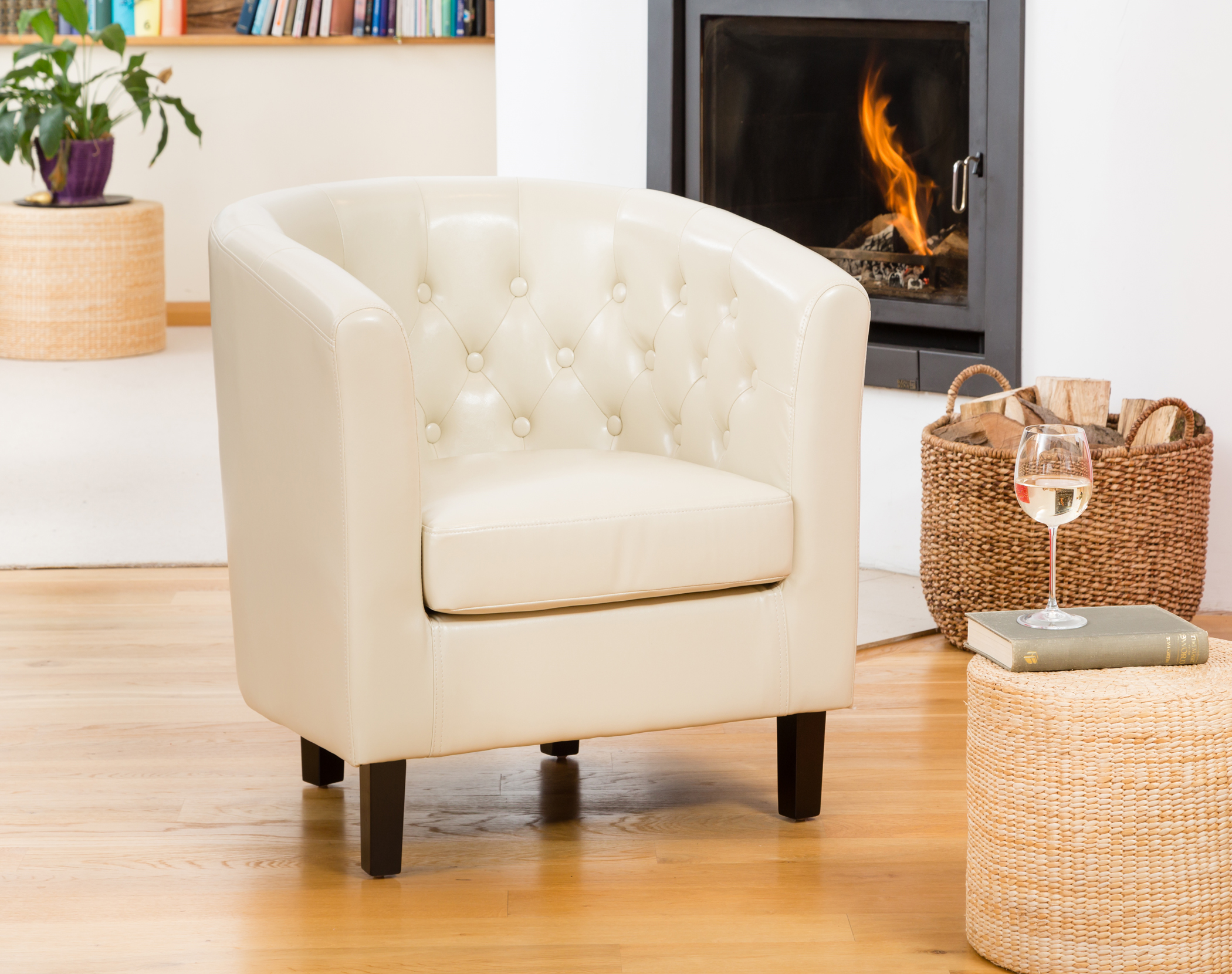 Duncan Tub Chair Cream