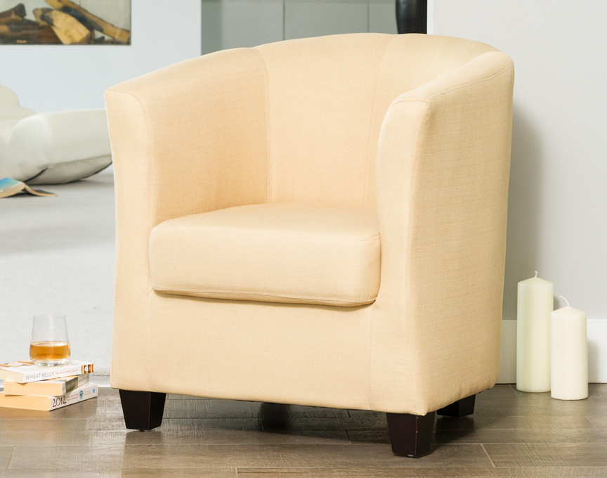 Filton tub chair beige