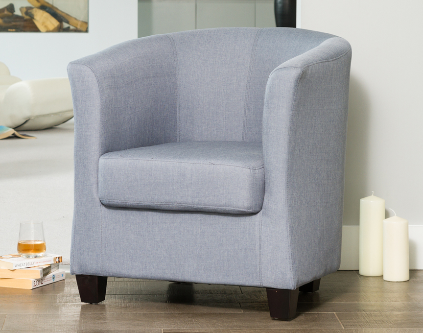 Filton tub chair blue