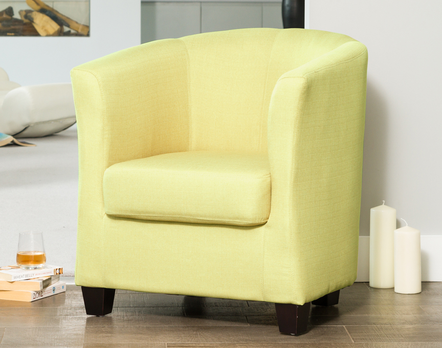 Filton tub chair green