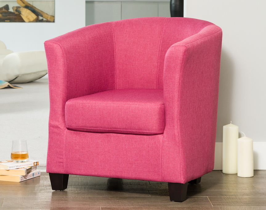 Filton tub chair pink