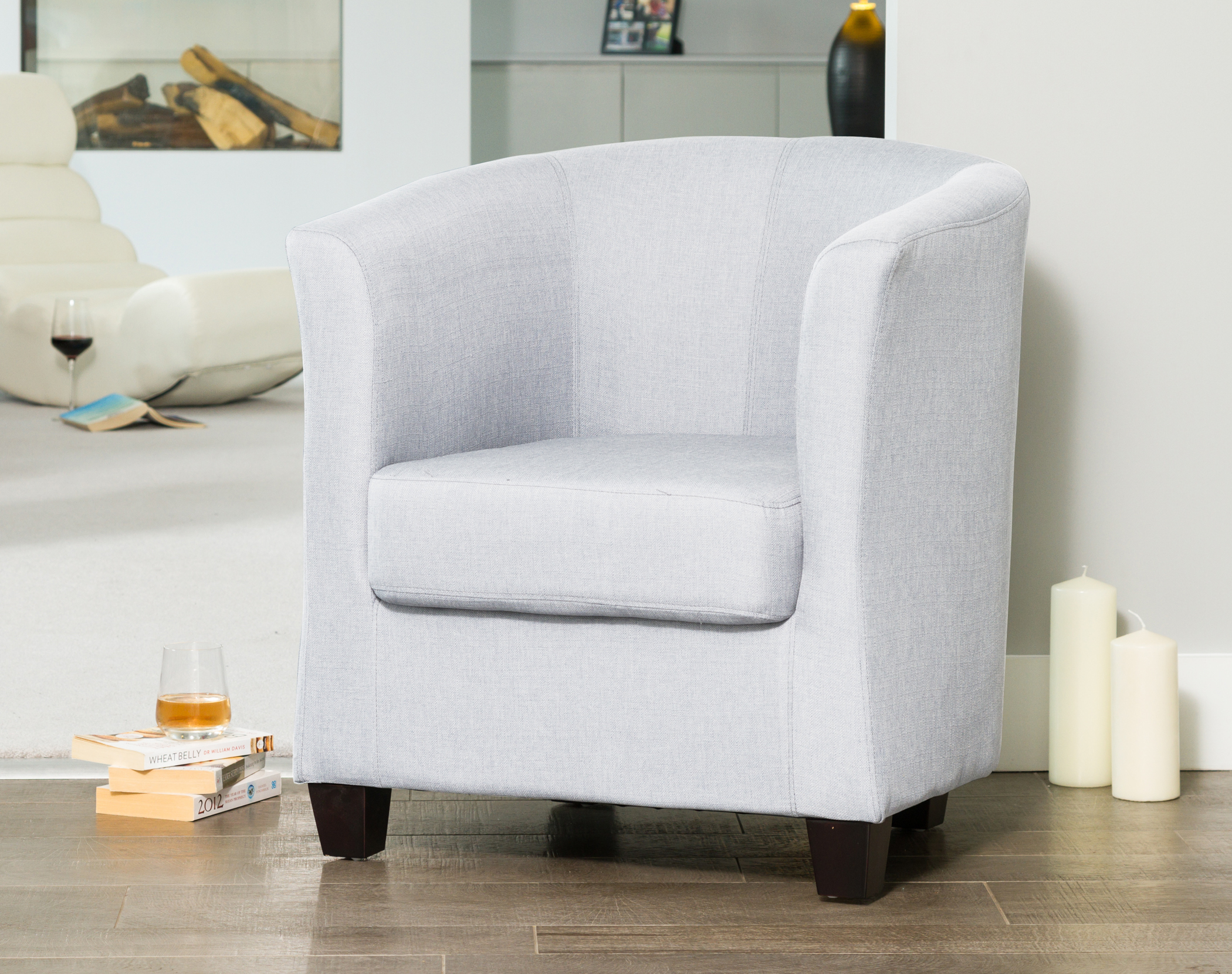 Filton Tub Chair silver