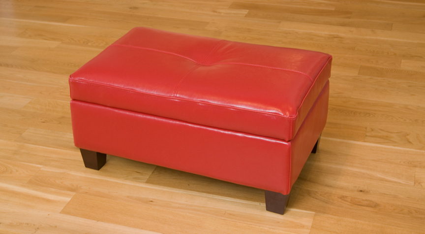 Red Footrest