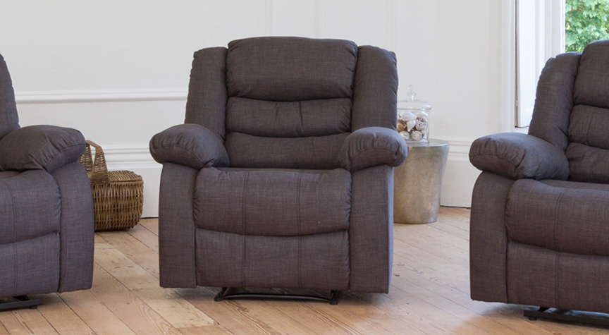Gainsborough armchair dark grey