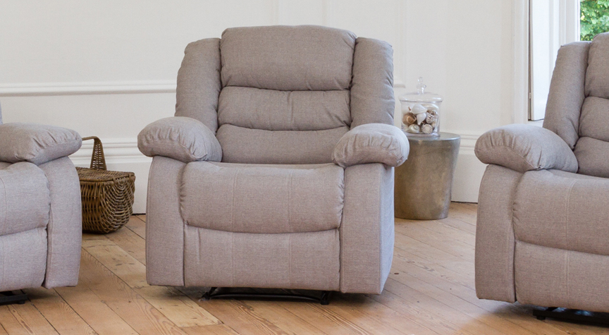 Gainsborough armchair light grey
