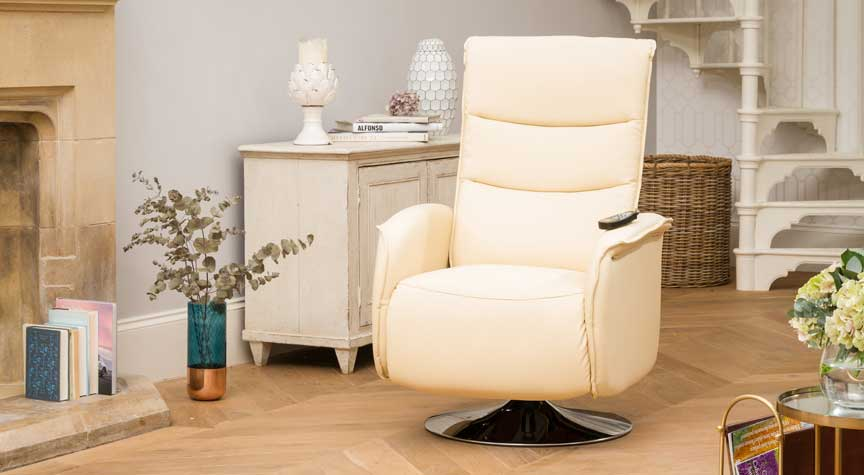 Harpenden Recliner Chair with Heat & Massage Cream