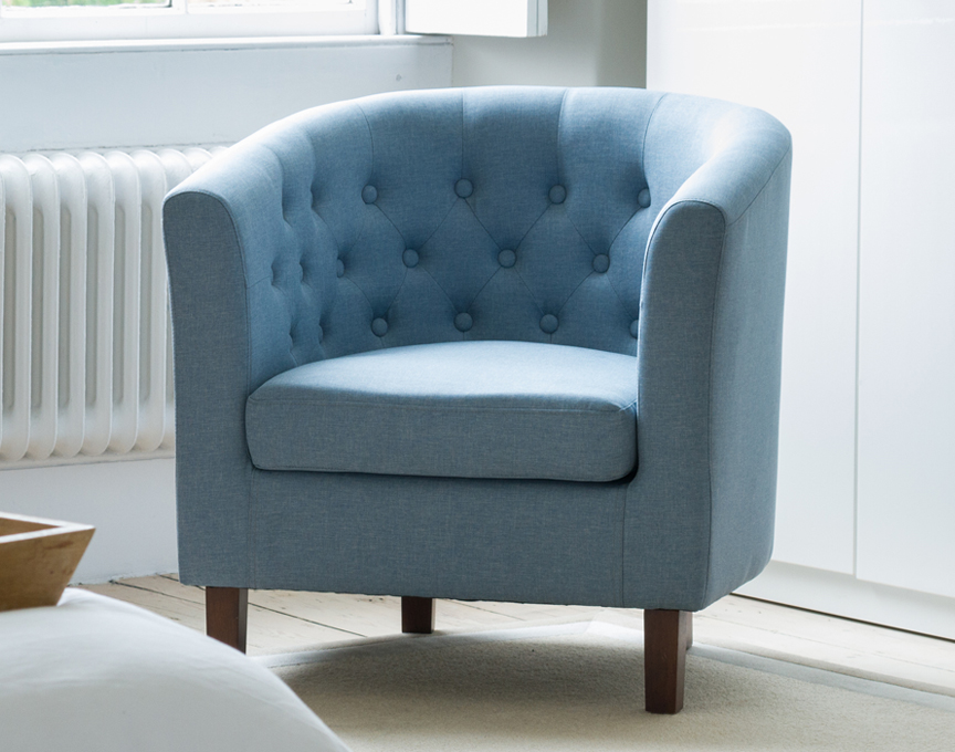 Hartcliffe tub chair blue