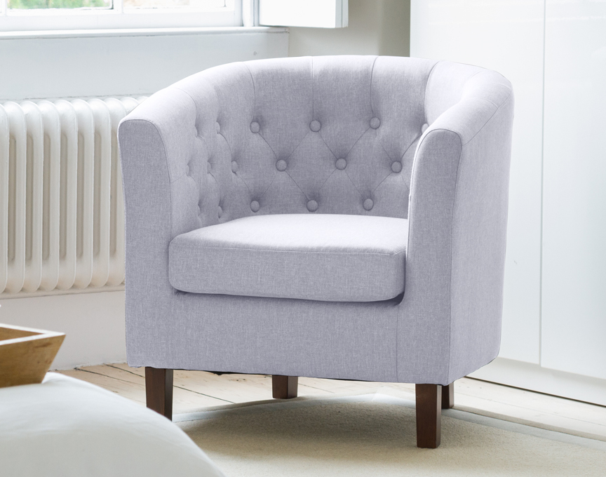 Hartcliffe tub chair blue grey