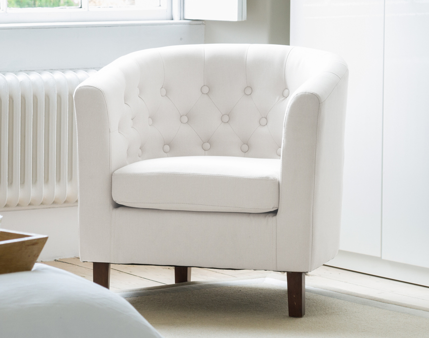 Hartcliffe tub chair cream