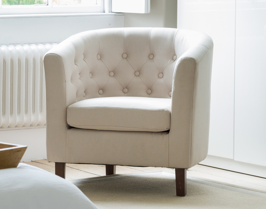 Hartcliffe tub chair dark beige