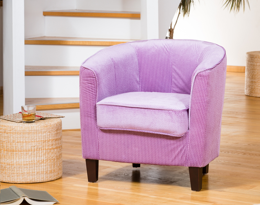 Hartford tub chair lilac
