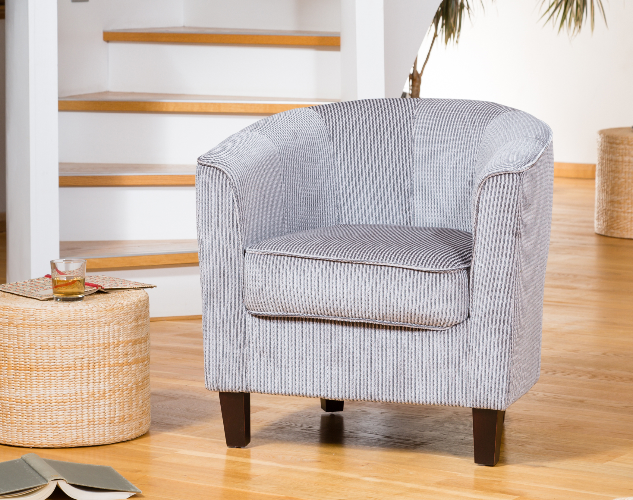 Hartford Tub Chair Charcoal