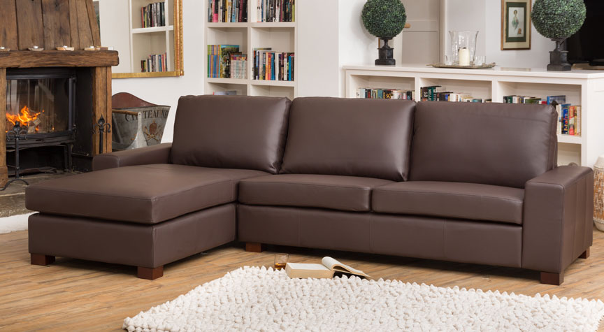 Knightley Corner Suite Brown