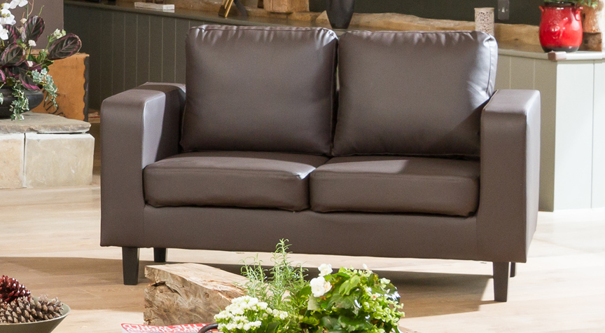 Lockhart 2 seater brown
