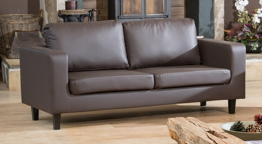 Lockhart 3 seater brown